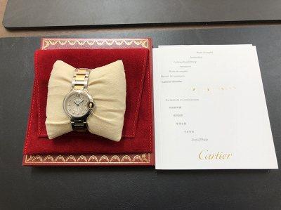 カルティエ 時計高価買取 バロンブルー買取は京都 北区 山科区 東山区 MARUKAマルイ店へ