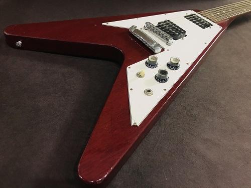 Gibson V67 ギター ネック折れ 買取 ジャンクのギター買取もお任せ下さいませ!