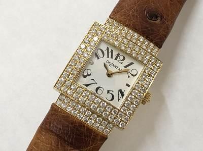 デラノ買取 ダイヤベゼル時計買取 ブランド時計買取は京都 東山 左京 河原町MARUKAマルイ店へ