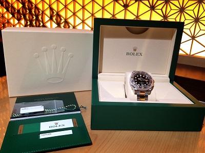 ロレックス買取 GMTマスターⅡ 116713LN ランダム品番 時計買取 マルカ渋谷店