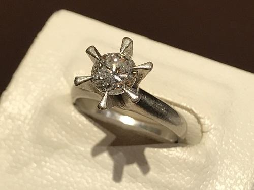 ダイヤモンド 指輪 プラチナ 買取 京都 四条 烏丸 ジュエリー