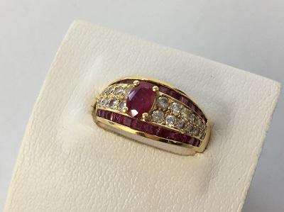 ルビー ダイヤ 指輪買取 K18 Pt900買取なら 神戸市 中央区 三宮 MARUKA
