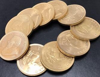 クルーガーランド金貨10枚339.5g高価買取 京都 下京区 西大路七条マルカ