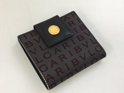 ブルガリ Wホック 財布買取 ロゴマニア ブランド買取なら 元町 三宮 旧居留地MARUKA