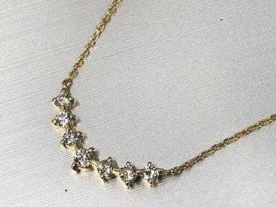 ダイヤモンド買取 ネックレス ジュエリー18金  高価買取 渋谷 新宿 表参道