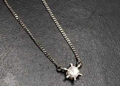 ダイヤモンド一石ネックレス高価買取ならマルカにお任せ下さい!