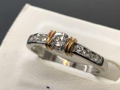 ダイヤモンド買取 ダイヤモンドファッションリング 0.27 0.23 宝石買取ならMARUKA心斎橋店