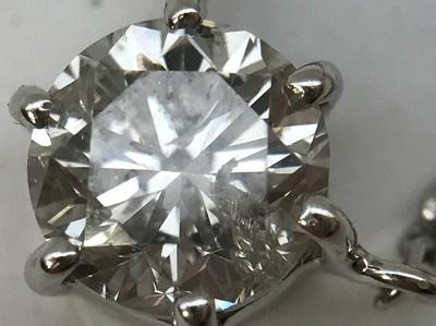 ダイヤモンド買取 ダイヤモンド 0.347ct プラチナ ペンダント ダイヤモンド高く売るなら 京都MARUKA大宮店へ
