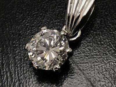 ダイヤモンド買取り 1.01ct キャラアップ ペンダントトップ買取 Pt900 西七条 下京区 南区 七条店