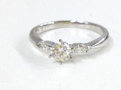 ダイヤモンド買取 Pt900 2.6g 0.303ct 宝石高く売るならダイヤ買取ならMARUKA心斎橋店