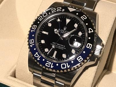 ロレックス買取 GMTマスターⅡ 116710BLNR ランダム品番 時計買取 マルカ渋谷店