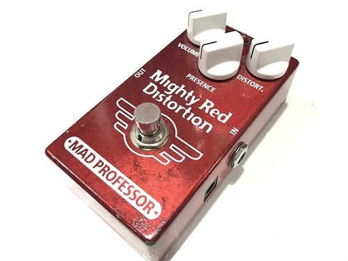 MAD PROFESSOR Mighty Red Distortion エフェクター買取ならMARUKA楽器!