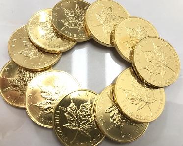 京都でメープルリーフ金貨高価買取ならマルカ七条店にお任せ下さい!