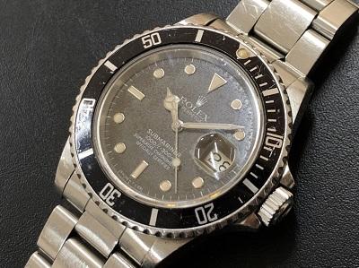 ロレックス サブマリーナデイト 16800 SS フチあり 80年代後半 本体のみ 時計 買取 京都 四条 河原町 東山 京都マルイ