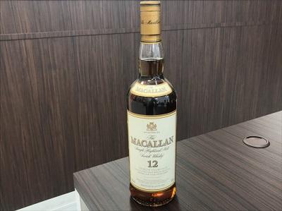 お酒買取 マッカラン 12年 シェリー オーク カスク 750ml 古酒 お酒高く売るなら 京都 MARUKA大宮店へ