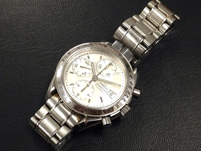 オメガ 時計 買取スピードマスター3511.50 白文字盤 渋谷 買取 東京