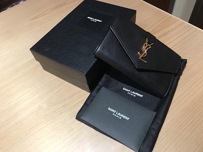 サンローラン買取 カードケース 名刺入れ YSL ブランド買取 東京 MARUKA渋谷店