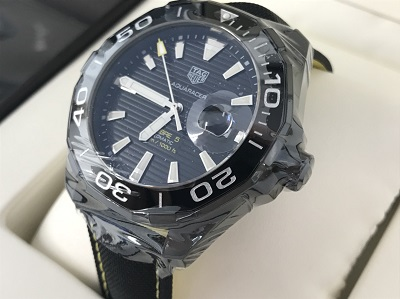 タグホイヤー アクアレーサー WAY211A SS×ナイロン 時計 未使用品 買取 京都 河原町 四条 マルイ店
