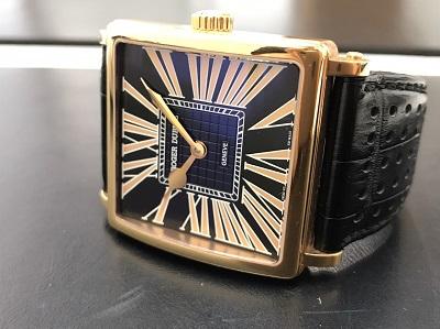 ロジェ・デュブイ買取り ゴールデンスクエア買取り G40.57.5 腕時計 金無垢 西七条 西院 西京極 七条店
