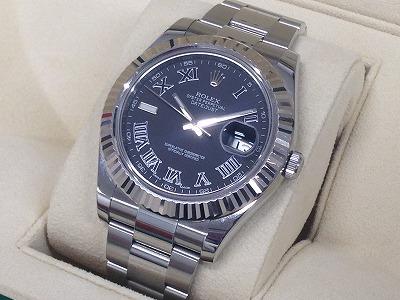 ロレックス買取 デイトジャストⅡ 116334 ランダム品番 時計買取 マルカ渋谷店
