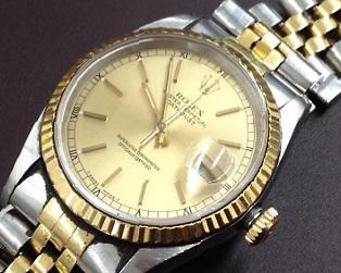 ロレックス デイトジャスト買取 16233 時計買取なら 灘区 三ノ宮 元町のMARUKA