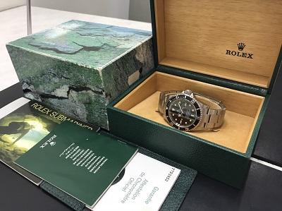 ロレックス買取 サブマリーナ買取り Ref.16610 腕時計 美品 西大路 西七条 七条店