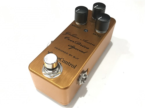ONE CONTROL ワンコントロール Golden Acorn Overdrive Special エフェクター買取 楽器買取 京都 四条烏丸