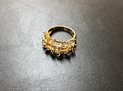 指輪 18金 宝石無し イエローゴールド 貴金属 金 買取 スクラップ 京都マルイ店 河原町 四条