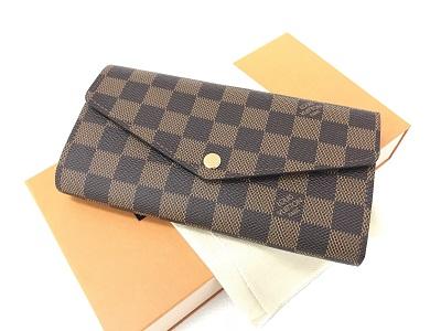 ルイヴィトン ポルトフォイユ サラ買取 財布 ブランド買取なら 神戸市 三宮 センター街のMARUKAへ