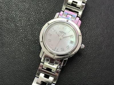 エルメス クリッパー買取 CL4.210 時計買取なら 神戸市 三ノ宮 西宮のMARUKAへ
