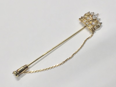 金 18金 買取 ジュエリー ブローチ ダイヤモンド 宝石 買取 渋谷店