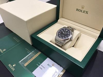 ロレックス買取 エアキング買取 Ref.116900 新型 腕時計 下京区 西大路 西七条 七条店