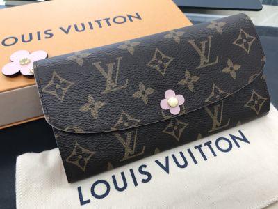 ヴィトン買取 人気の財布 ポルトフォイユ・エミリー フラワースタッズ ブランド買取ならMARUKA心斎橋店
