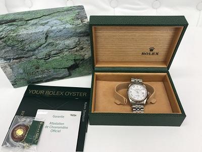 ロレックス デイトジャスト買取 16234 時計買取なら 明石 西宮 芦屋のMARUKA