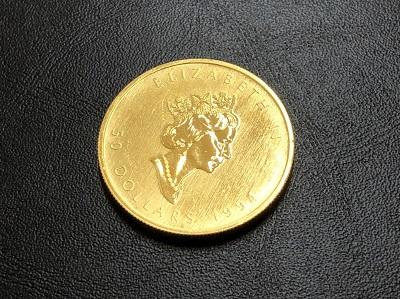 カナダ金貨 エリザベス メープルリーフ コイン 純金 K24 金 貴金属 地金 買取 京都 四条 河原町