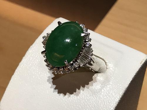 翡翠 宝石 指輪 買取 ダイヤ 京都 四条 烏丸