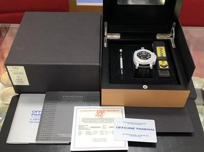 パネライ買取 ルミノール サブマーシブル PAM00024 完品 パネライ高く売るなら 京都MARUKA大宮店へ