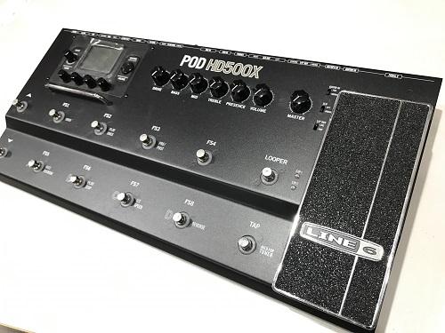 LINE6 POD HD500X 買取 マルチエフェクターの買取、中古楽器なら京都のMARUKA楽器へ!