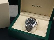 ロレックス買取 エクスプローラーⅡ 216570完品 時計買取はMARUKA大阪心斎橋店