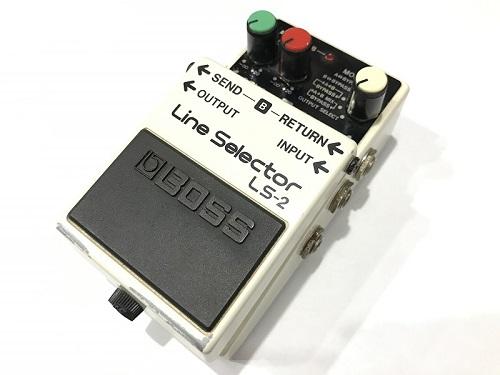 BOSS ボス LS-2 Line Selector ラインセレクター買取 エフェクター買取 京都 四条烏丸