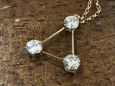 ダイヤモンド買取 0.555ct 0.545ct 0.558ct ネックレス買取 ジュエリー 下京区 七条通 西大路 七条店