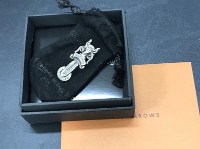 クロムハーツ買取 スティックピン ダガー インボイス有 クロムハーツ高く売るなら 京都MARUKA大宮店へ