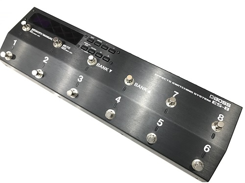 BOSS ES-8 買取 スイッチャー 楽器 買取なら京都の中古楽器専門店マルカ楽器にお任せ下さい!