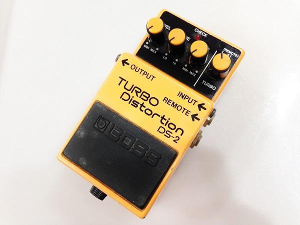 BOSS DS-2 TURBO Distortion 買取 京都、大阪、神戸の楽器買取ならお任せ下さい!
