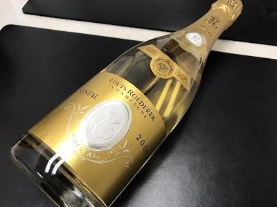 ルイ・ロデレール買取り クリスタル 2009年 シャンパン買取 お酒 下京区 西大路 西七条 西院 七条店
