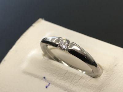 ダイヤモンドリング買取 0.15ct 小さなダイヤもしっかり査定 ダイヤ買取MARUKA大阪心斎橋店