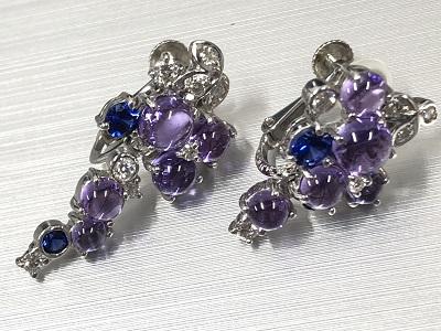 ジュエリー ピアス プラチナPt900 ダイヤモンド 高価 買取 渋谷マルカ