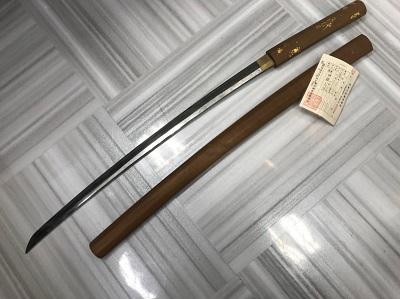 日本刀買取  打刀 白鞘 日本刀高く売るなら 京都MARUKA大宮店へ