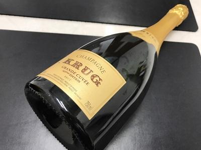 クリュッグ買取 グランドキュヴェ買取 シャンパン お酒買取 下京区 西七条 西大路 七条店