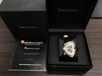 ハミルトン買取 ベンチュラ 時計買取 ブランド機械式時計 MARUKA四条大宮店 大阪 東京 福岡 京都